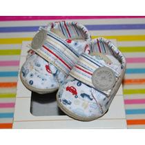 Zapato Abrojo Rayas Autito Gorditoo 2016 Little Treasure