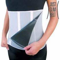 Cinta Modeladora Emagrecedora Invisível Zipper Slimming Belt