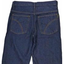 Calça Jeans Tradicional Serviço Trabalho Basica Nº 36 Ao 54
