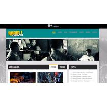 Script Em Php Portal Web-rádio Responsivo