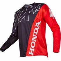 Jersey Fox 2017 360 Honda Rojo, Motocross, Mtb, Downhill