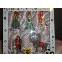 Figuras Disney Store Ornamentos De Frozen.