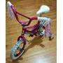 Bici R12 Rosa, Para Niña. Casi Nueva!