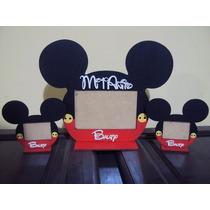Souvenirs Portaretratos De Mickey Pintados!