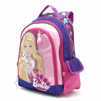 Mochila Espalda Grande Barbie Original Mattel Mundo Manias