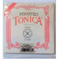 Cordas P/ Violino Pirastro Tonica Original - Frete Grátis