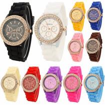 Relojes Geneva $49 Menudeo! Precio De Myorista Con Critsales