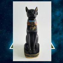 Figura Egipcia Diosa Bastet (gato) 18cm