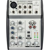 Behringer Eurorack Ub502 Mesa De Som Mixer 0frete