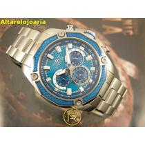 Relógio Invicta Cronógrafo Aviador Ref 22804 Todo Aço Inox