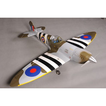 Aeromodelo Spitifire 61/91 Kit Arf Phoenix Model Trem Retrat