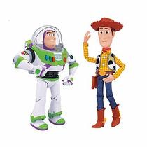 Buzz Lightyear Y Woody Amigos Interactivos Toy Story 3 Envío
