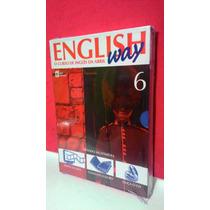 Livro, Cd, Dv English Way- Vol 6 O Curso De Inglês Da Abril