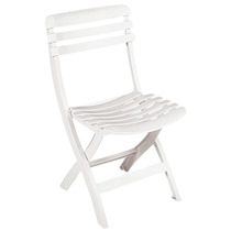 Cadeira Plástica Dobrável Branca Ipanema Tramontina