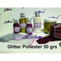 Glitter Poliester Para Peliculas De Unhas 50grs