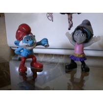 Bonecos Da Coleção Smurfs Do Mcdonald