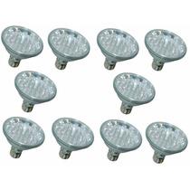 Kit10-lampadas Led Par30 220v Branco Rosca Flc 18led Chuvei