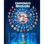 Álbum+60 Figurinhas Campeonato Brasileiro 2016 Capa Dura!!!