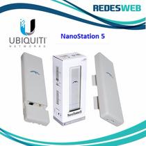 Antena Ubiquiti Nanostation 5: 5ghz - 14 Dbi