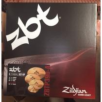 Zildjian Zbtp390-a Set De 5 Platillos Envio Gratis