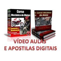 Curso 50 Dvds Mecânica De Motos E Injeção Eletrônica + Brind