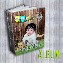Album Fotográfico Personalizado, Para 100 Fotos 4x Ó 5x Ó 6x