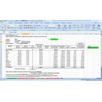 Intereses Sobre Prestaciones Sociales Abonadas, Excel, Lottt