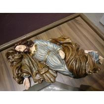 Imagem São José Dormindo - 50cm - Resina - Lindo Acabamento