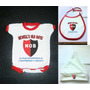 Bebe X3 Body + Babero + Gorro Newells Old Boys