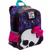 Mochila Infantil Escolar De Costas Monster High Skulette