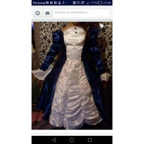 Disfraz De Dama Antigua Caballero Paisana En Raso