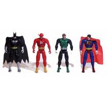 Kit Liga Da Justiça Batman, Lanterna Verde, Flash, Superman