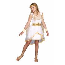 Disfraz Greco Romano Diosa Griega Para Niñas Y Adolescentes