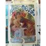 Afiche Publicitario Vintage - Bieres De La Meuse - Mucha