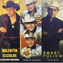 Cd Valentin Elizalde Los Nietos Bobby Pulido Promo Usado