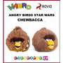 Angry Birds Star Wars Chewbacca - Peluche 23x20cm! Original