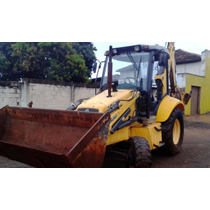 Retroescavadeira New Holland Lb 90, Case Caterpillar