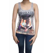 Bl1198 Blusa Esqueleto Con Cristaless, It Girls Colombia