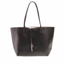 Prune Cartera Bolso Shopper Grande Reversible Plateado