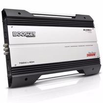Módulo Booster Ba 2200 4 3000w 4 Canais Mosfet 1500 Rms