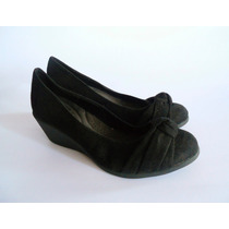 Zapatos Marca Dexflex Color Negro Nro 36 1/2. Nuevos