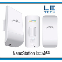 Ubiquiti Nanostation Loco M2 2.4ghz Antena Router Wifi Cpe