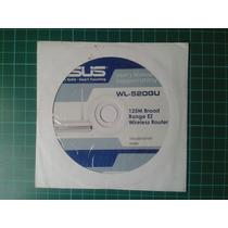Asus Wl-520gu Cd De Manual Instalacion Original