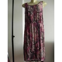 Vestido Mullet Rosa Fuscia Com Renda - Novo G