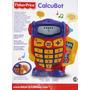 Fisher Price Calcubot Habla 2idiomas Calculadora Actividades