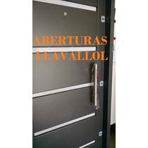 Puerta Chapa 18 Super Segura 80x200 Con 3 Cerraduras Barral