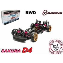 Sakura D4 - Rwd - Kit 1/10 - 3 Racing - Pronta Entrega