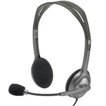 Diadema Con Micrófono H111 Logitech Ajustable 981-000612