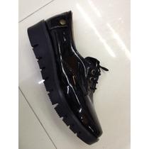 Zapato Puntal Plataforma Corrida