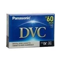 Cassette Cinta Mini Dvc 60 Min Panasonic Cassette Dvc
